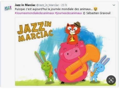 Journée mondiale des animaux Jazz in Marciac
