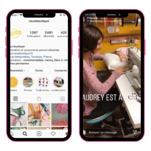 Idée et inspiration pour stories instagram