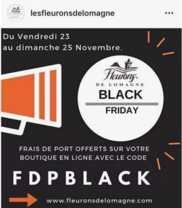 Black friday Fleurons de Lomagne