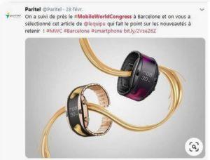 Mobile World Congress, Paritel