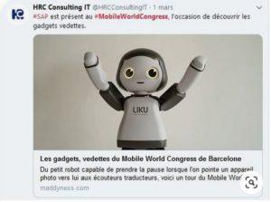 Mobile World Congress, HRC