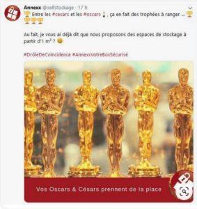 Cérémonie des Oscar, Annexx