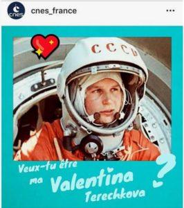 St Valentin, CNES