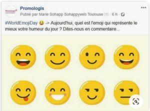 World Emoji Day - humeur du jour