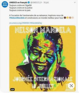 Mandela Day - Unesco