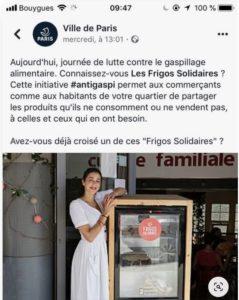 Journée anti gaspillage - ville de Paris
