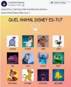 Journée mondiale des animaux - Disney