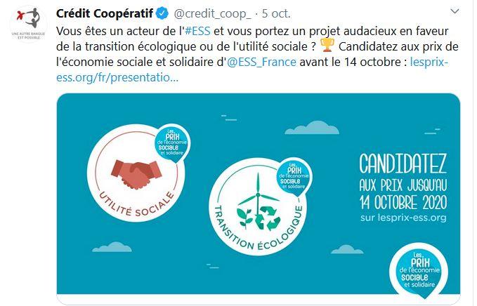 Mois de l'ESS - Credit coopératif