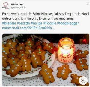 Saint nicolas Mamscook - post réseaux sociaux