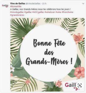 Bonne Fête des Grands-Mères - Vins de Gaillac