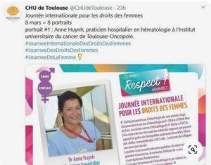 Journée Droits des Femmes - CHU Toulouse