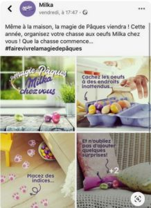 Paques - Chocolat Milka