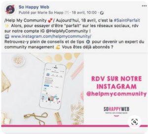 Saint Parfait - So Happy Web