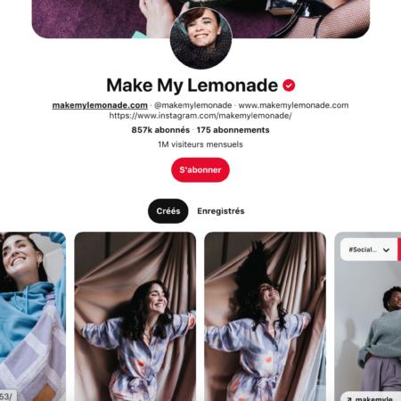 pinterest le compte de Make My Limonade - So Happy Web