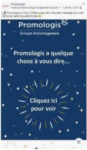 Bonne Année Promologis