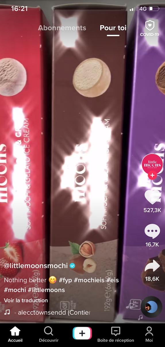 tiktok little moon smochi marque - tendances réseaux sociaux